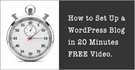 How to Launch a Self-Hosted WordPress Blog in 20 Minutes or Less