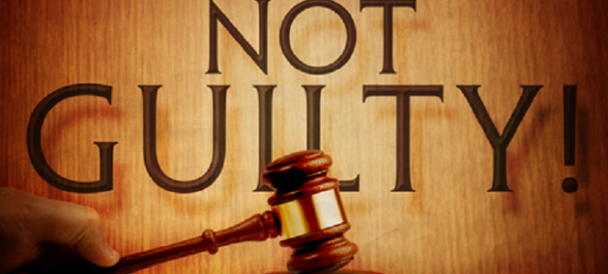 proof of not gulity verdict on Burdens of proof in criminal cases and despite the general rule that the prosecution bears the burden of proof about every fact that the prosecution tries to prove—creating enough doubt about any point that's crucial to a guilty verdict will suffice of course.