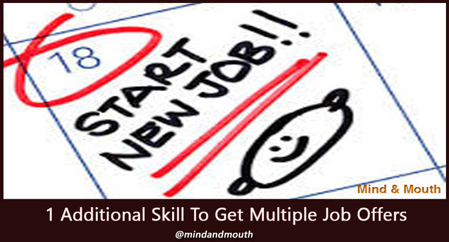 Add this one skill and get multiple lucrative job offers